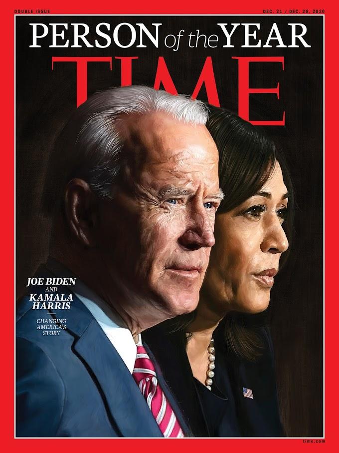 Байден и Харрис получили звание «Человек года» по версии журнала Time