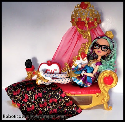 Marvelous Roboticas Doll Obsessions Ever After High Apple White Machost Co Dining Chair Design Ideas Machostcouk
