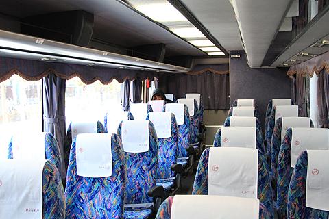 伊予鉄道「マドンナエクスプレス」・269 車内