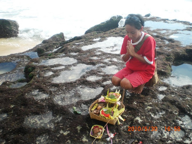 Banten, Sesaji, Bali