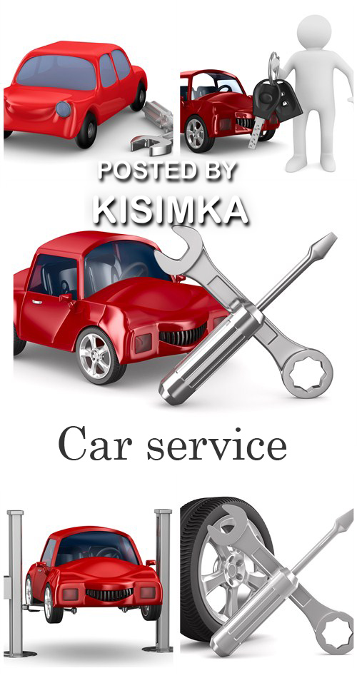 Stock Photo: Car service