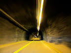 Tunnel in Shoshone Canyon