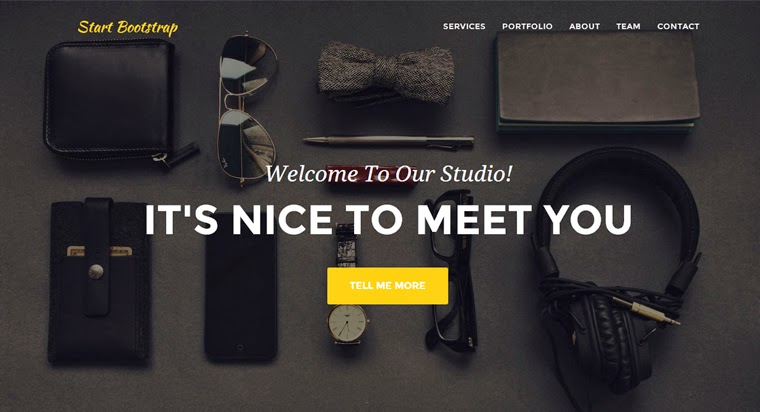 Free Bootstrap Themes Agency