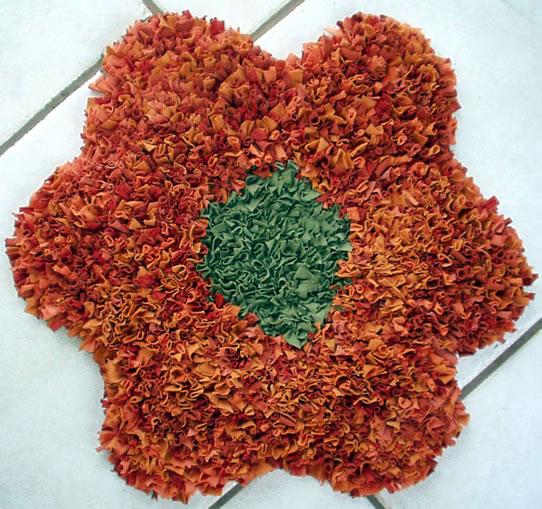 Tapete amarradinho de flor