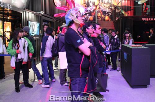 Gstar 2011: Toàn cảnh gian hàng Blizzard Entertainment 10