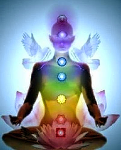 The Lady With Chakras