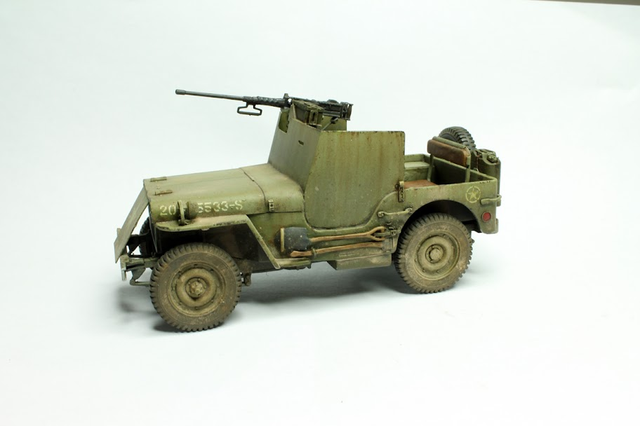 Armored 1/4 ton jeep | Modelers Social Club Forum