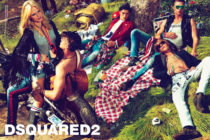 Dsquared2 Sunglasses Spring Summer 2012 campaign