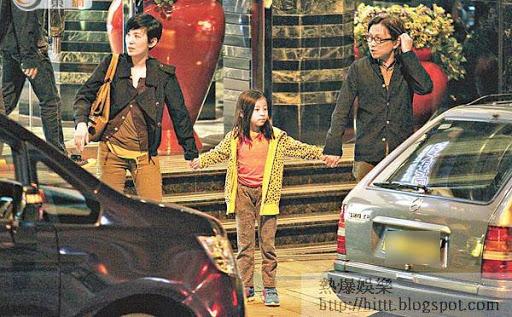 吳君如與陳可辛經常帶女兒到古天樂的餐廳食飯。