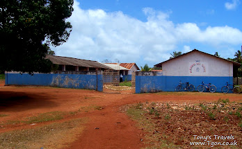 Makunduchi school entrance