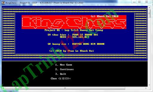 Game Cờ Vua Trên Console
