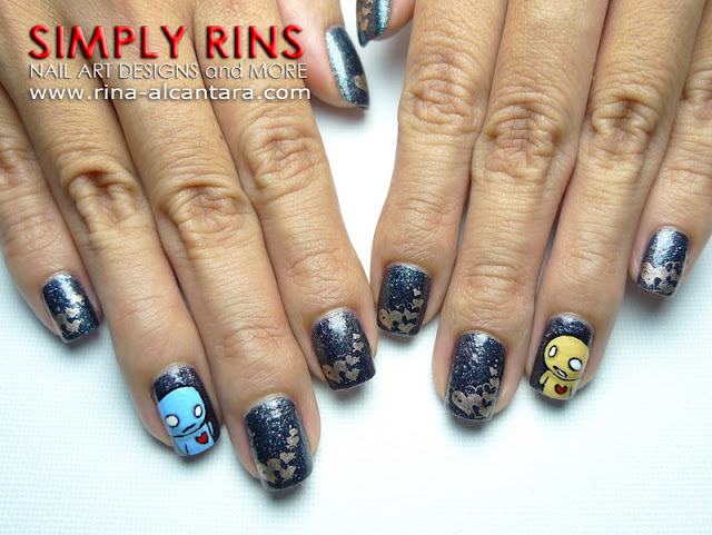 Pon and Zi Nail Art Design