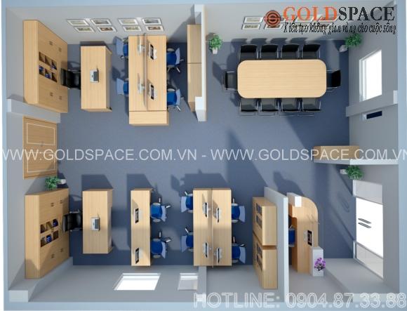 Thiết kế thi công nội thất văn phòng CENE Việt Nam