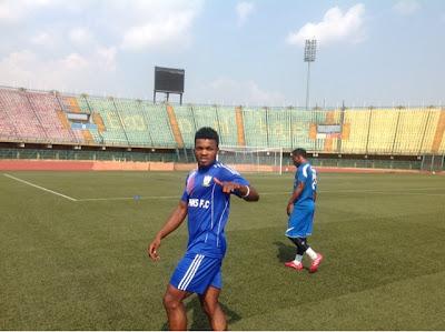 Nigeria football news, latest Nigerian football news, Eduok Joins Eagles Camp, Ready For CIV, Sudan Friendly