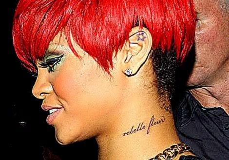 19 Popular Rihanna Tattoos