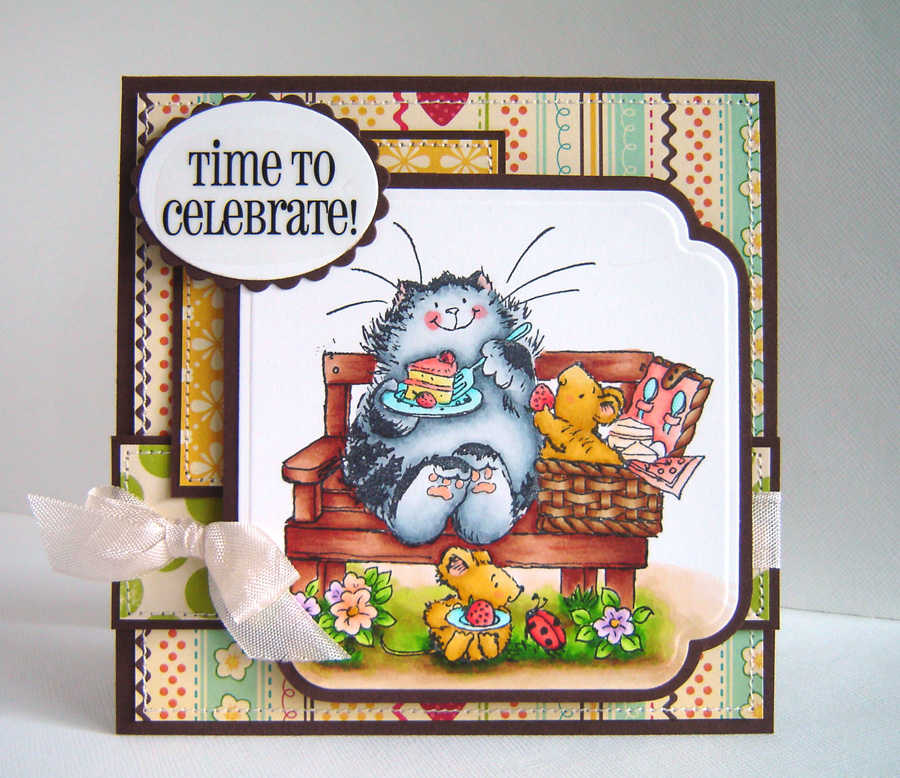 Image Result For Christmas Kitten Coloring