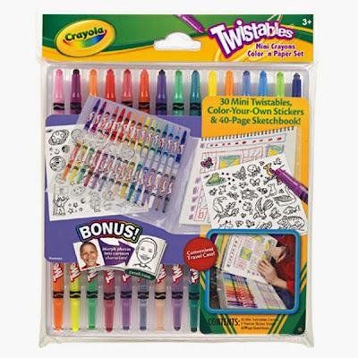 Bộ bút sáp và giấy tô màu Crayola