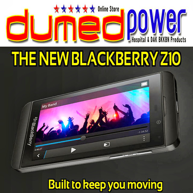 The New Blackberry Z10 Smartphone