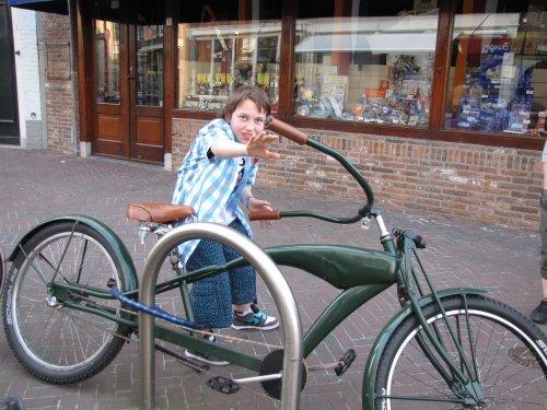 Ondanks de mountainbike banden (Schwalbes voor de kenners!) die er op liggen, zou ik met deze fiets niet aan de 24h van Kester beginnen