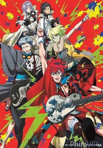Rock Tự Do - Bakumatsu Rock poster