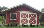 Eclectic Red Barn