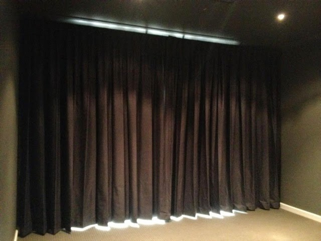 theatre room curtain