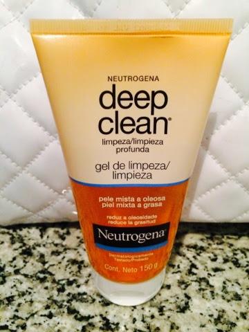 deep clean, limpeza profunda, gel, Neutrogena, pele, oleosa, mista