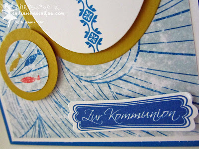 stampin up, kommunion, communion, high tide, auf hoher see, mosaic madness