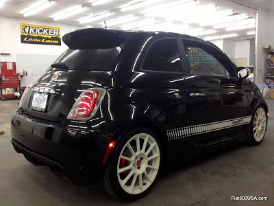 Modified Fiat 500 Abarth owned by atxabarth
