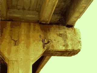 Corrosion Induced Damage In High Stress Cantilever Design.