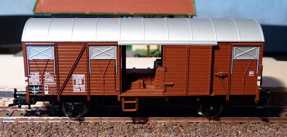 Fleischmann 5319: gesloten goederenwagen met sluitverlichting