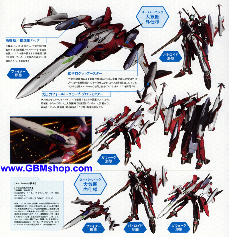 Macross Frontier YF-29 Durandal Mechanic & Concept Macross Chronicle