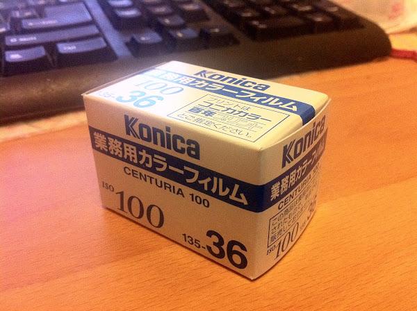 KONICA 業務用400初試