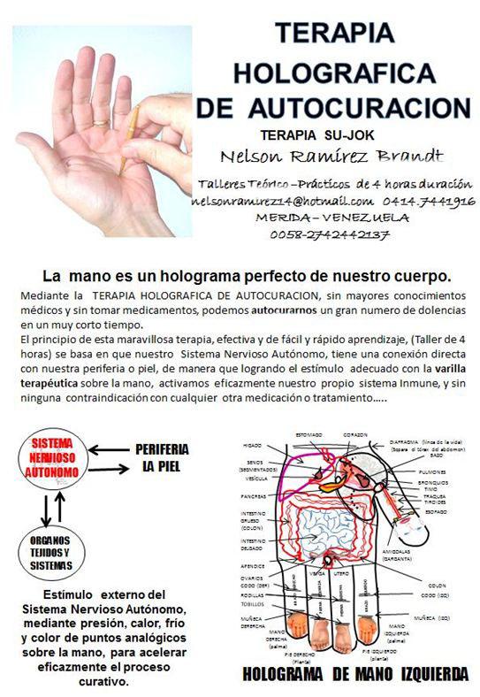 Terapia Holográfica de Autocuración