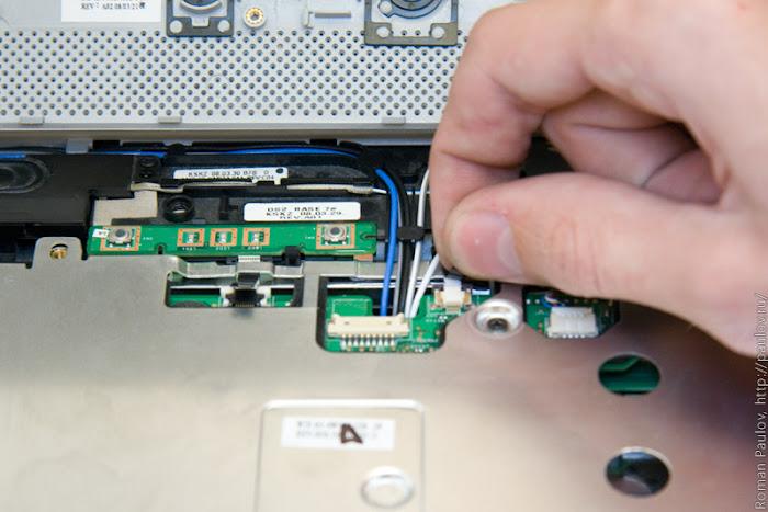 Как разобрать ноутбук Dell Inspiron 1525 16
