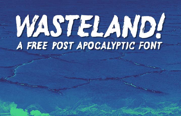Wasteland Free Fonts
