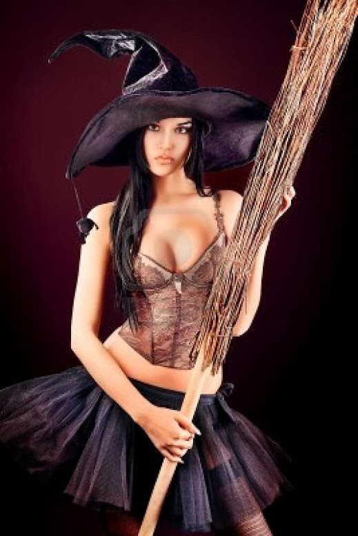 Ведьма голая фото