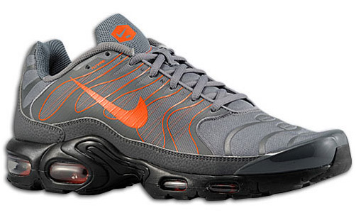 Bama Kicks  Nike Air Max Plus 1.5 Cool Grey Team Orange 68106eb56