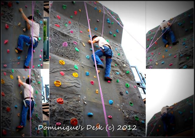 R climbing the wall
