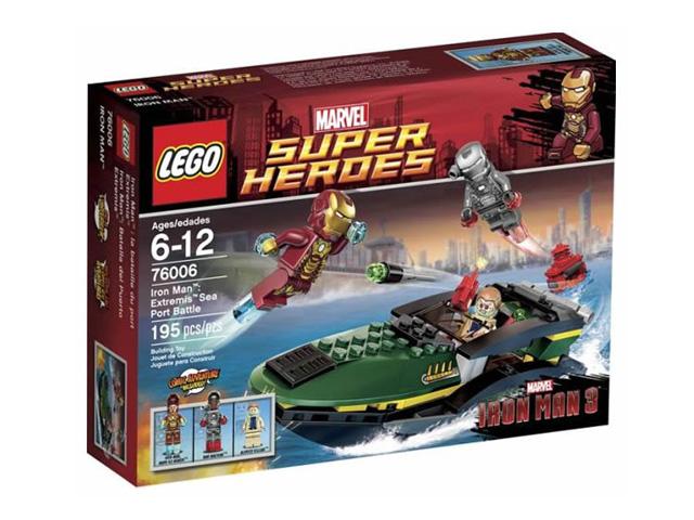 76006 レゴ アイアンマン シーポート・バトル
