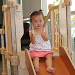 At LePort Schools Parent & Child Infant Montessori class, children move about independently and often spend a lot of time practicing their climbing, sliding & clapping skills.