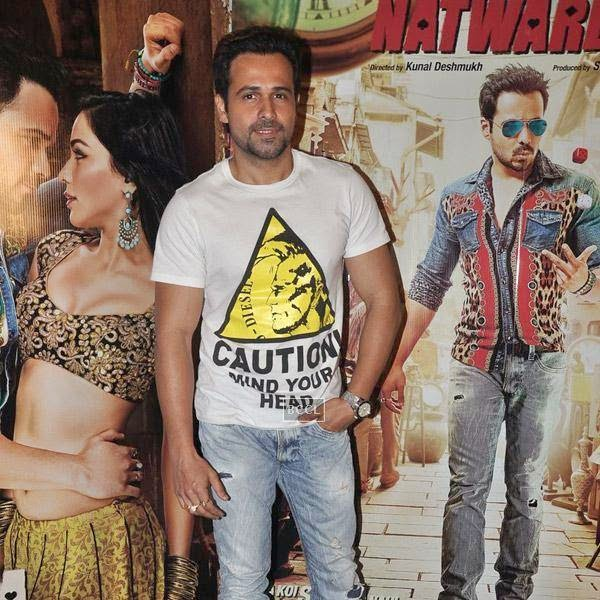 Emraan Hashmi during the press meet of Bollywood movie Raja Natwarlal, held at UTV Office on July 24, 2014.(Pic: Viral Bhayani)