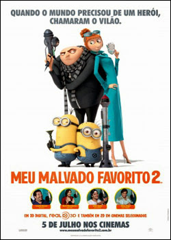 Download Meu Malvado Favorito 2 – BDRip AVI Dual Áudio + RMVB Dublado