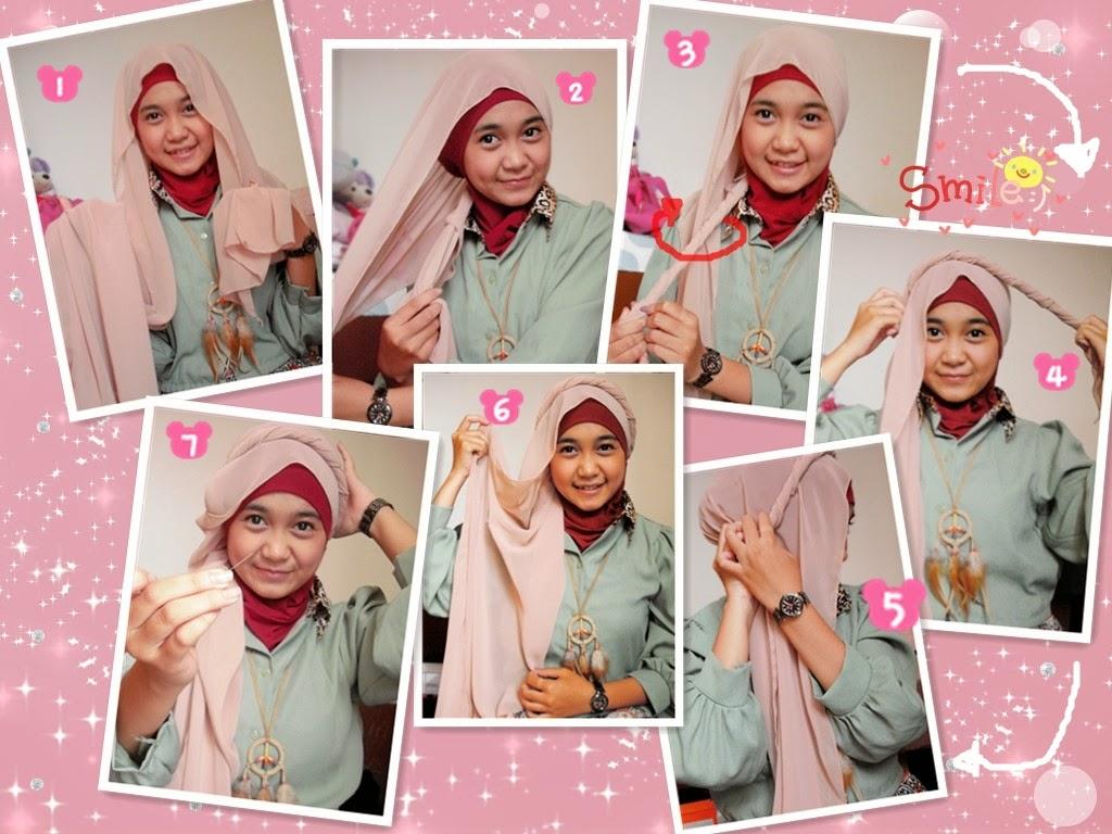 Tutorial Hijab Segi Empat Acara Resmi