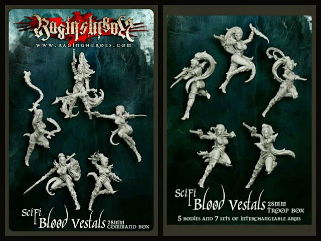 Raging Vestales de Sangre Scify