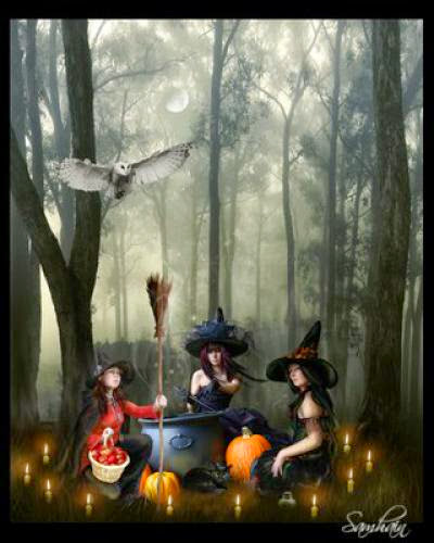 You Say Witch Like It A Bad Thing Thoughts On Our Image At Samhain