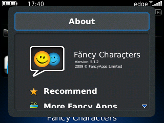 Fancy Characters v5.1.2