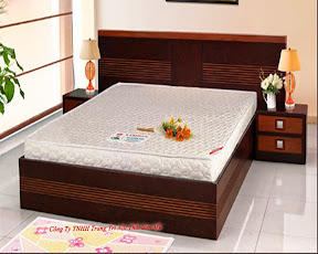 Giường ngủ gỗ ghép 05