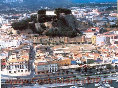 Замок Дении, замок, крепость, Испания, Аликанте, Коста Бланка, недвижимость в Испании, CostablancaVIP, исторический центр, Дения, Denia, Dénia, Castillo de Dénia, Alicante, Alacant