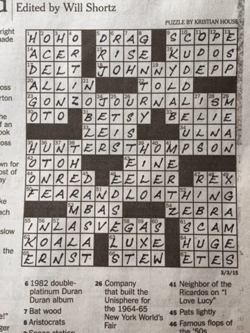 Rex parker does the nyt crossword puzzle physicist mach tue 3 3 15